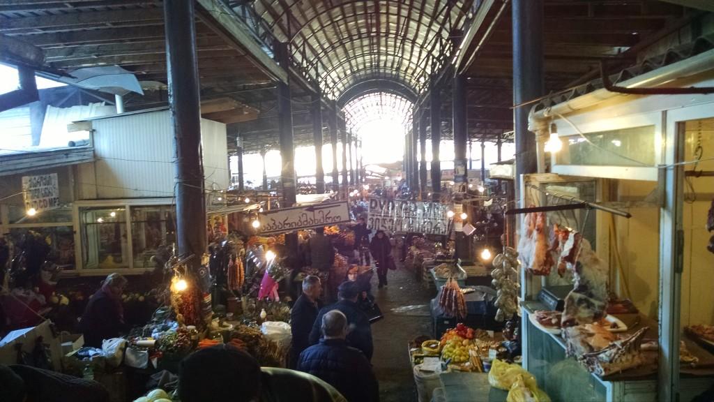 Market at Telavi