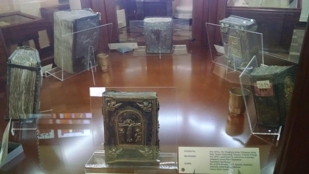 ancient books in the matenadaran