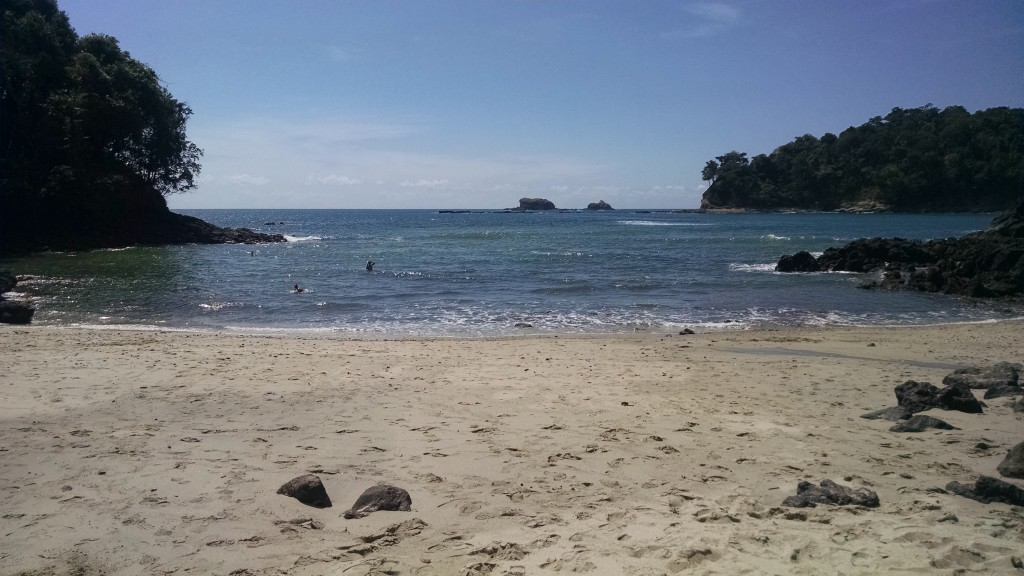 Beach in Manuel Antonio State Park