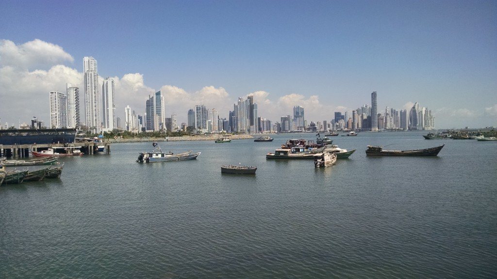 Skyline for Panama City