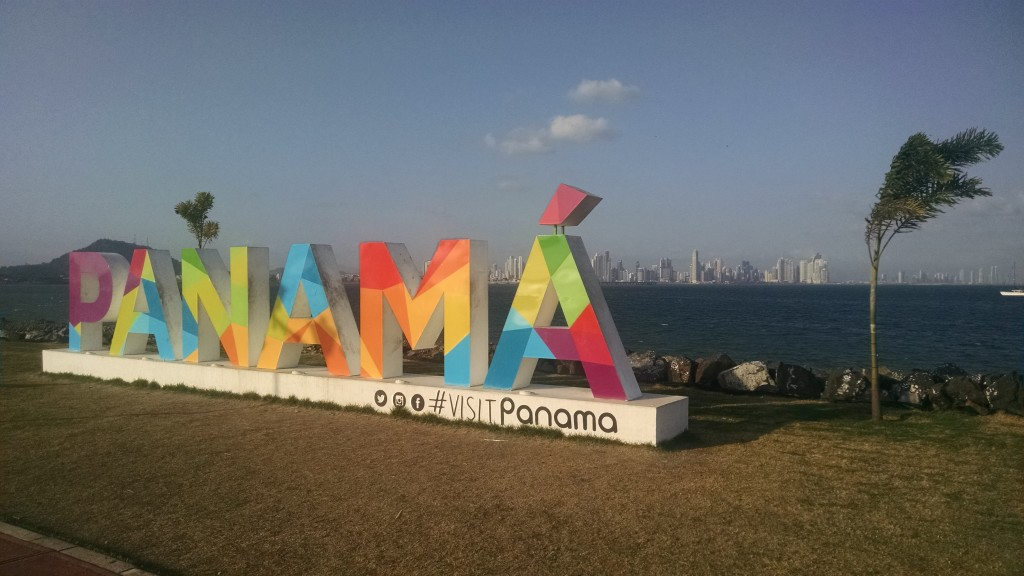 I found the other Panama sign