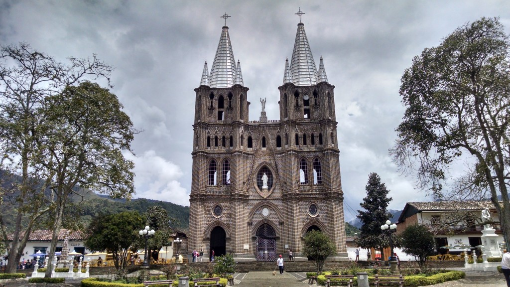 Church in Jardín Colombia