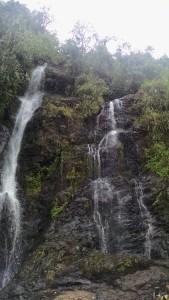 Jardín Colombia waterfall