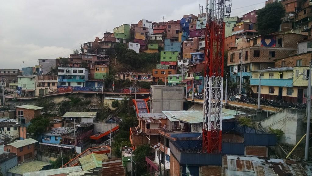 Comuna 13 Escalators