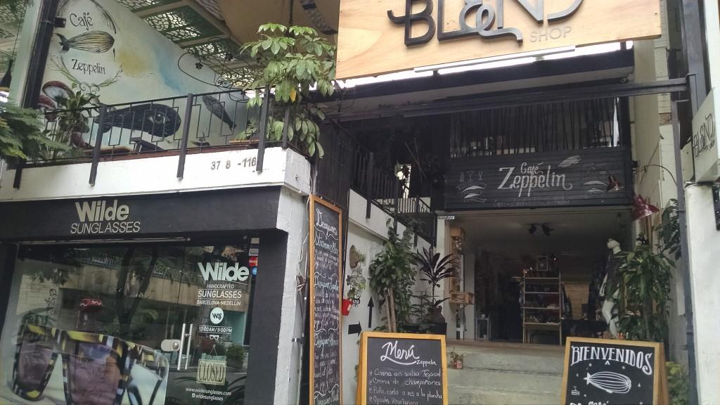 Cafe Zeppelin Poblado Medellin