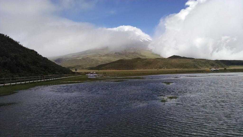 Laguna at Cotopaxi