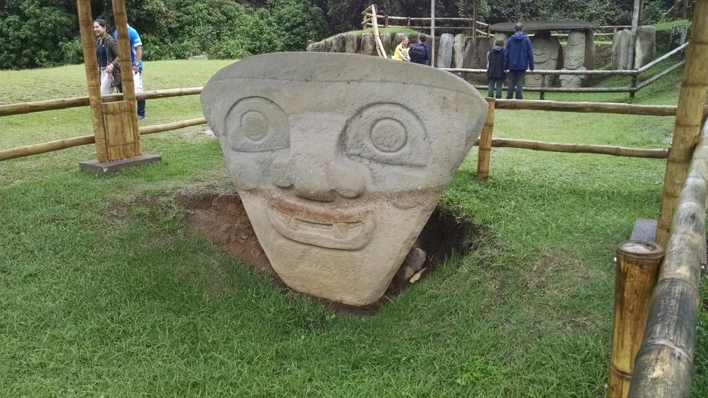 San Agustín Colombia Statues