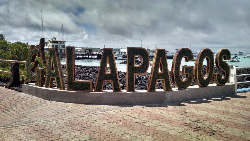 Galapagos Island Sign