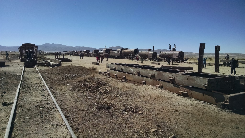 Abandoned Trains in Uyuni, Bolivia