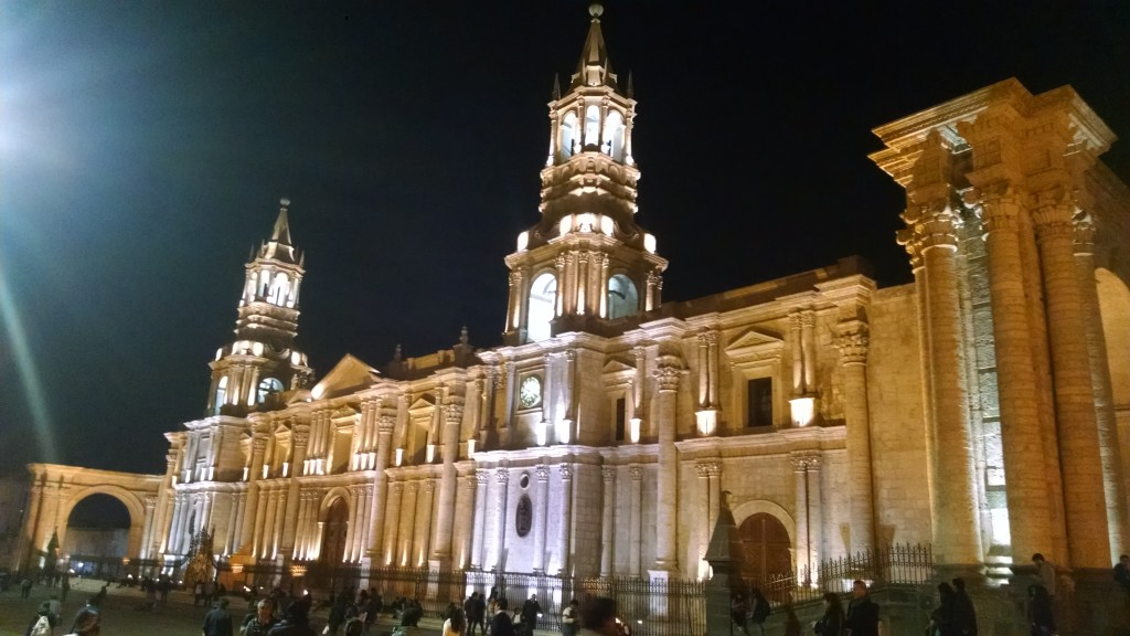 Building in Arequipa
