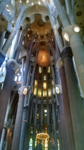 Sagra Familia by Gaudi - Barcelona