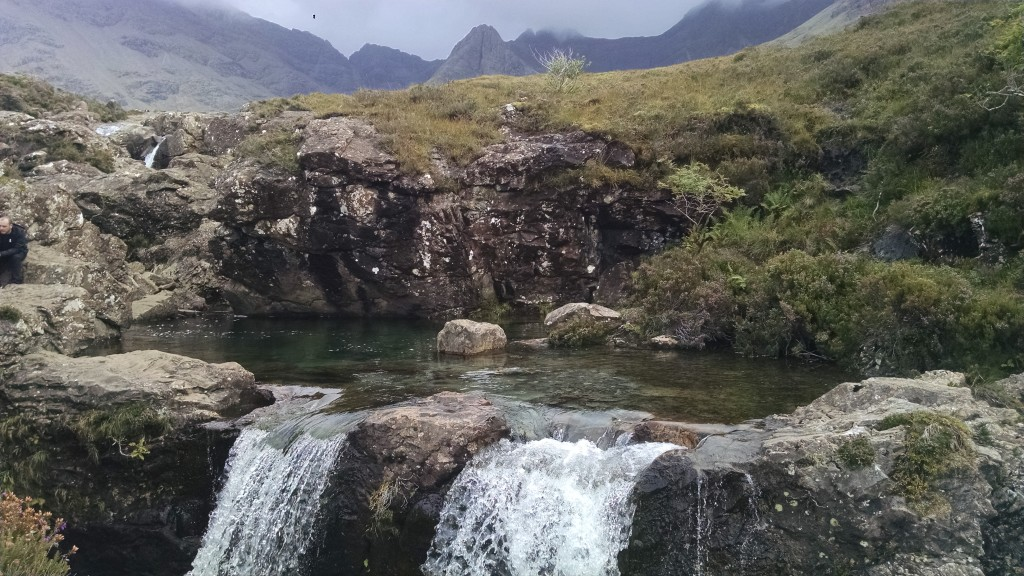 Fairy Pools in Skye, Scotland