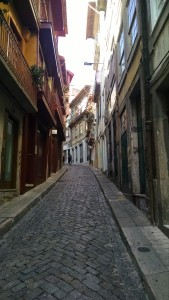 Narrow street in Porto