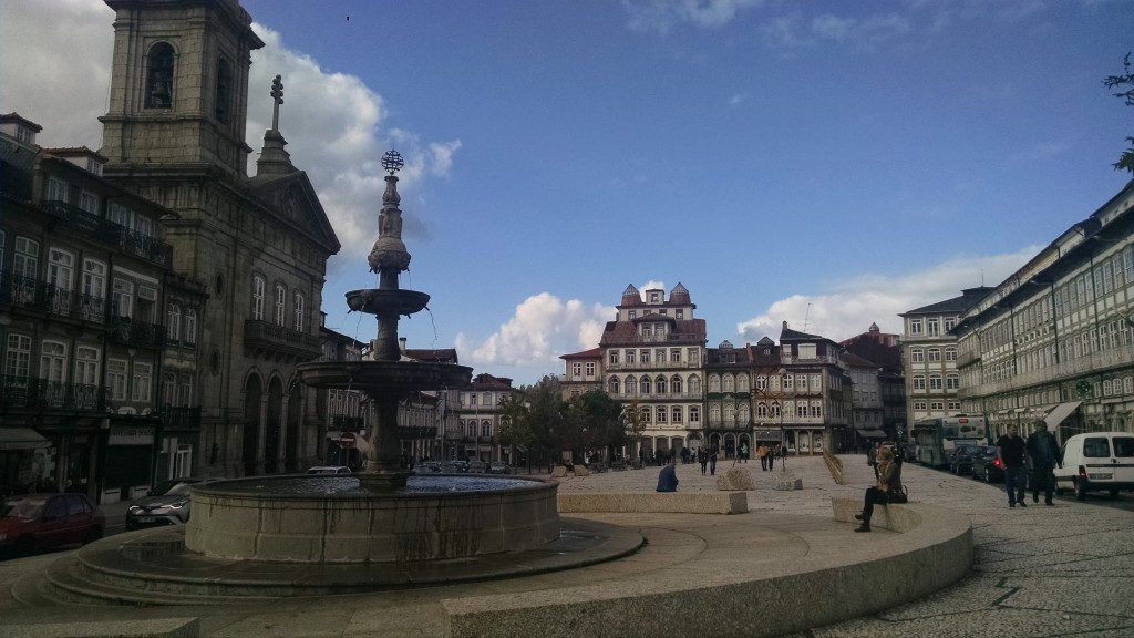 Square in Guimarães