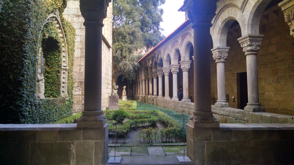 Cathedral Gardens in Guimarães