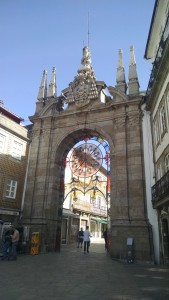 Gate in Braga