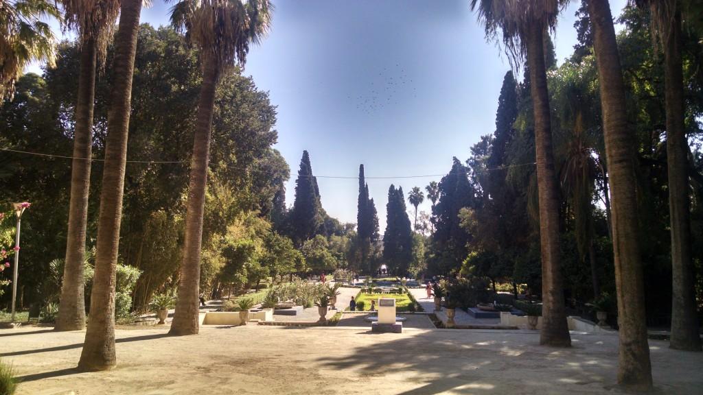 Jardin Jnan Sbil in Fes, Morocco
