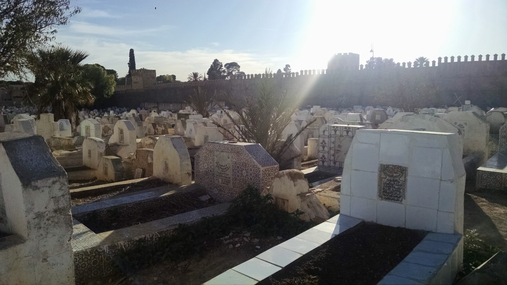 Cemetary in Fes, Morocco