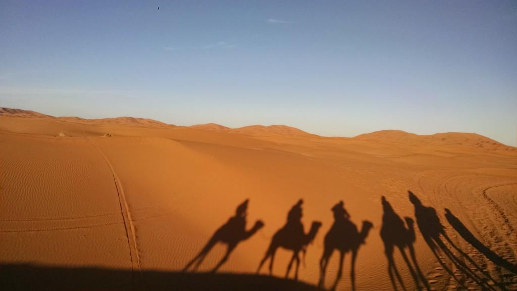 Sahara Desert from Merzouga