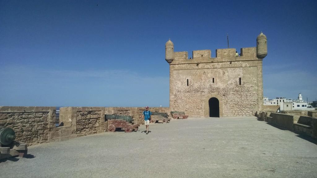 Walls in Essaouira