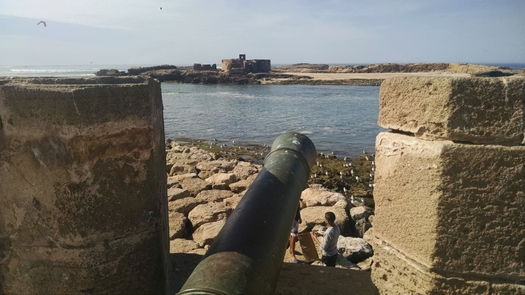 Cannon and Walls in Essaouira