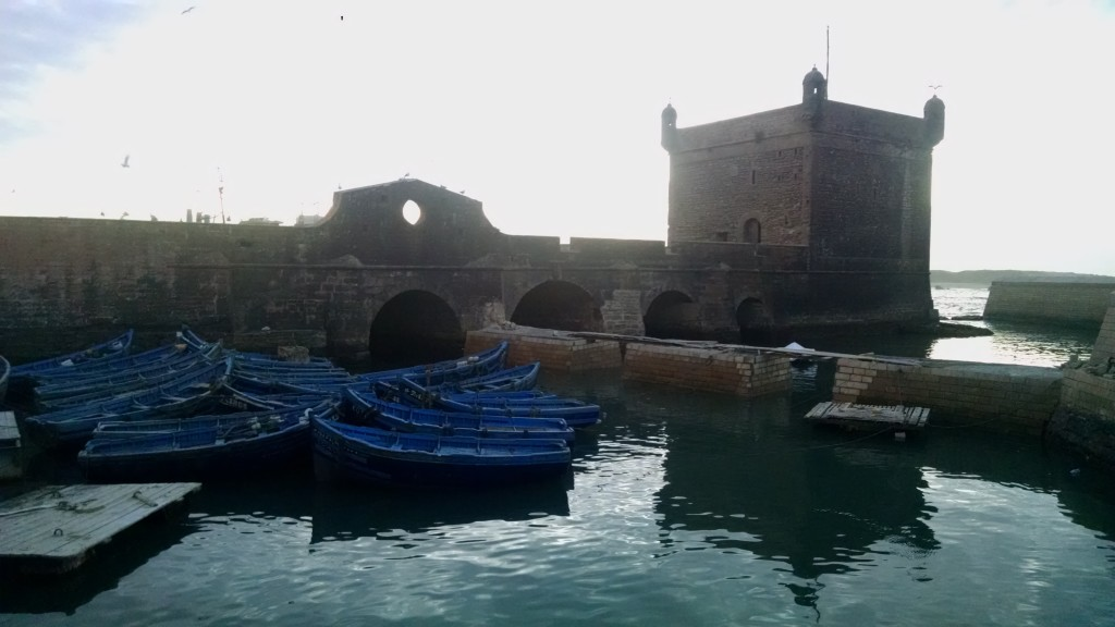 Harbor and Boats in Essaouira