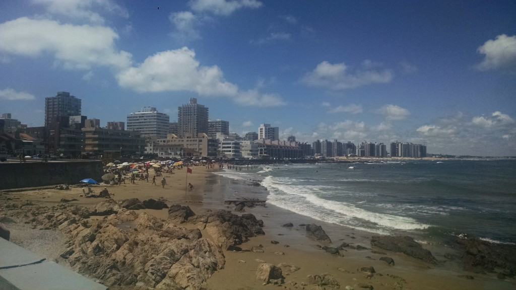 Beach at Punta del Este