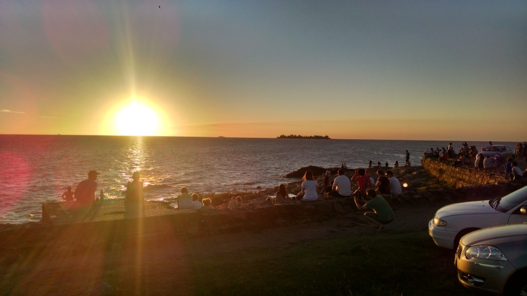 Colonia del Sacramento Sunset