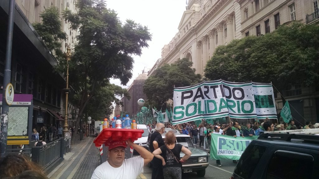 Marches in Buenos Aires
