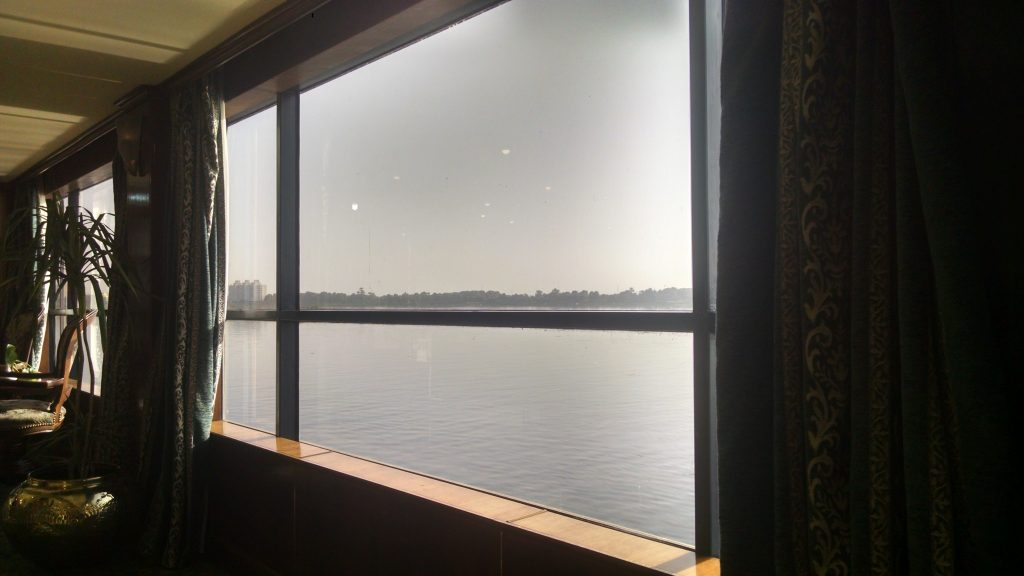 Nile Cruise window
