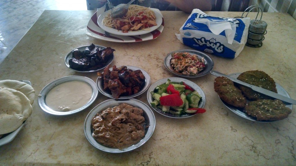 Hurghada, Egypt food