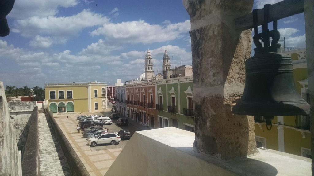 View from Campeche Walls