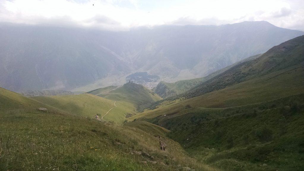 Hiking in Kazbegi, Georgia