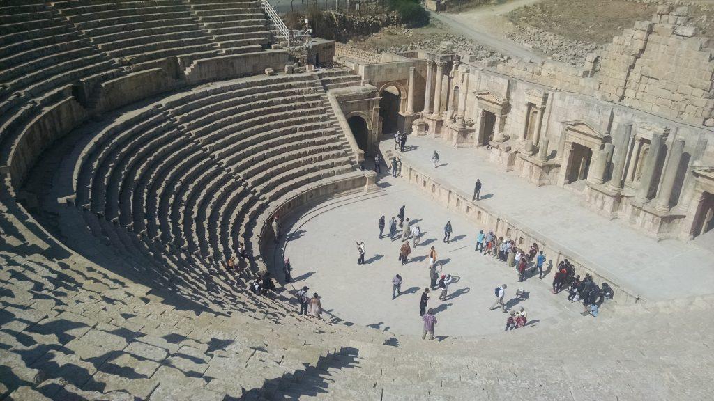 Roman Theater in Jerash, Jordan