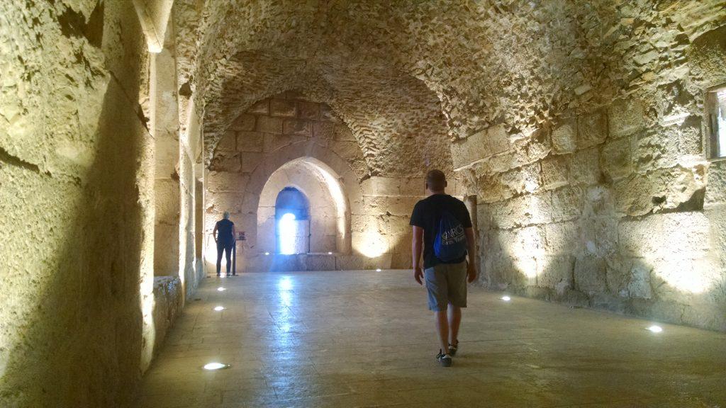 Inside Ajloun Castle