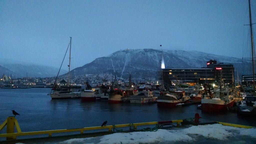 Harbor in Tromsø