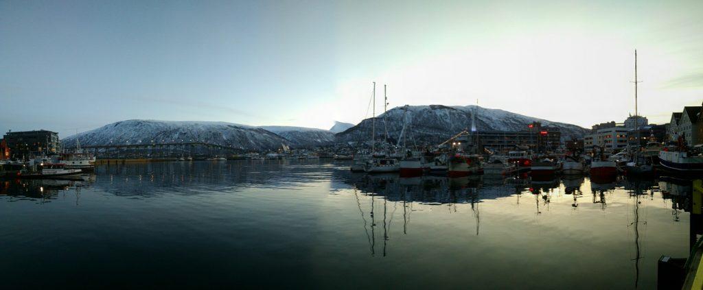 Sunrise in Tromsø