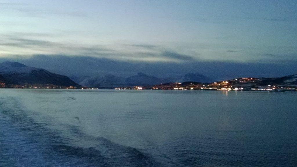 Boat to Tromsø